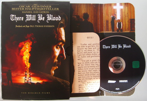 There Will Be Blood - Cover 2