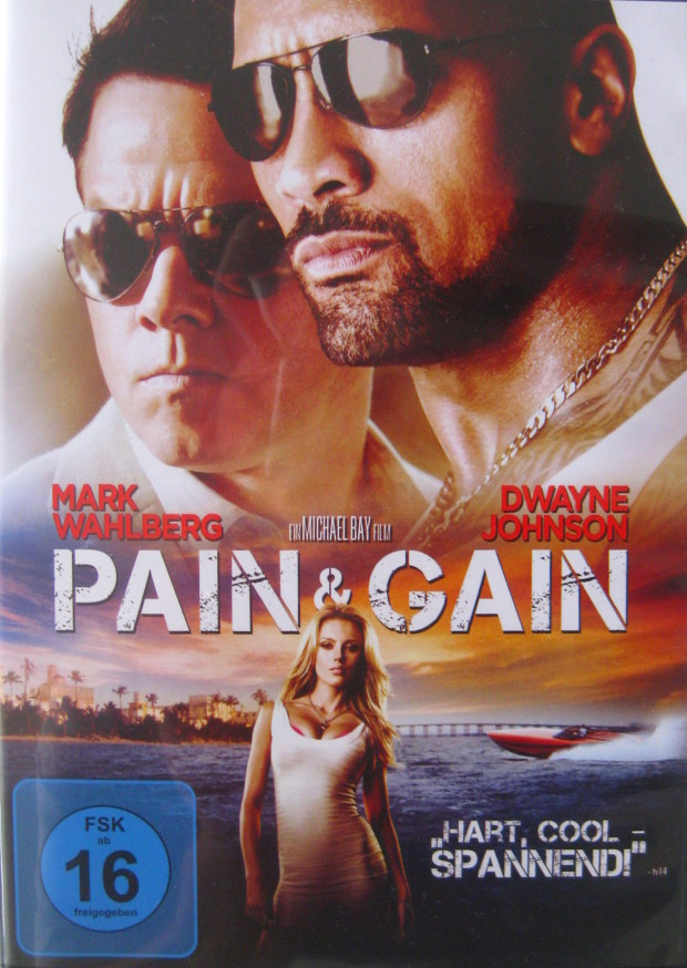 Pain & Gain - Cover